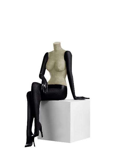Female fabric mannequins of the Nostalgie series SDBV-7