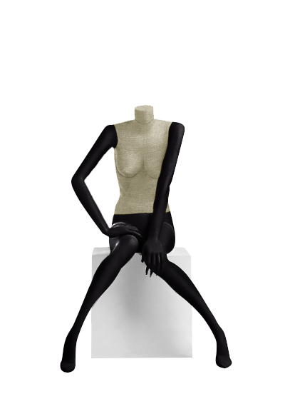 Female fabric mannequins of the Nostalgie series SDBV-8