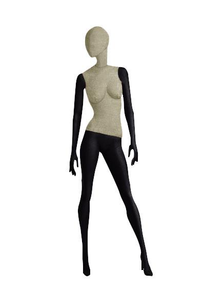 Female fabric mannequins of the Nostalgie series SDV-3