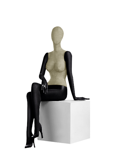 Female fabric mannequins of the Nostalgie series SDV-7