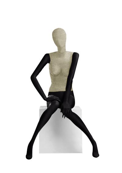 Female fabric mannequins of the Nostalgie series SDV-8