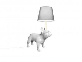 """Floor lamp """"French Bulldog"""""""