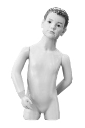 Children's torsos with a head