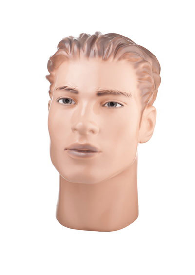 Head of a male mannequin Vasily