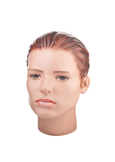 Head of a female mannequin Veselin