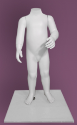 Children's mannequin of the