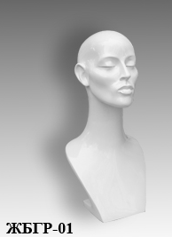Demo forms of busts of the Grace series BGR-01