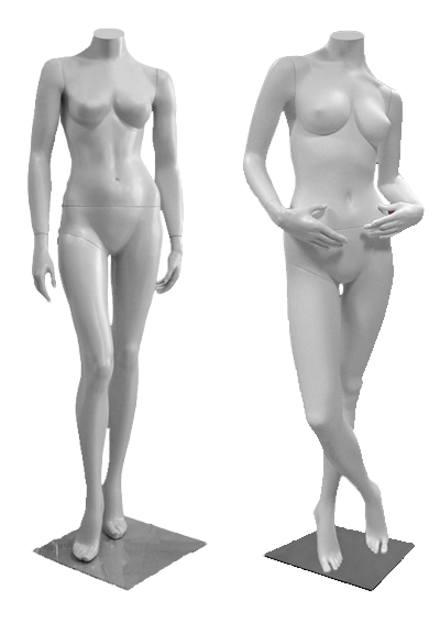 Female mannequins of the Inspiration series