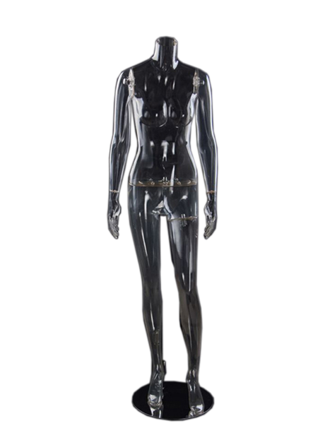 Female Headless mannequin Transparent