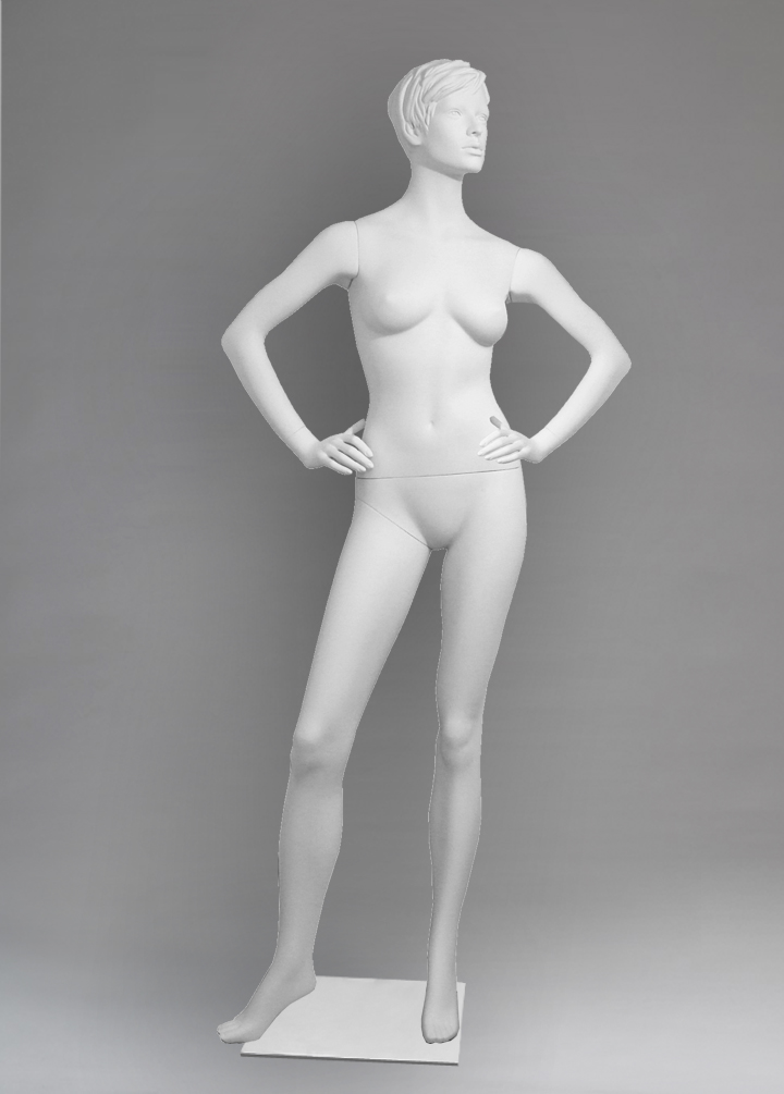 Female mannequin of the Arina 04 series