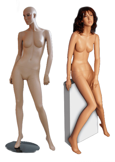 Female mannequin of the Avdotya series
