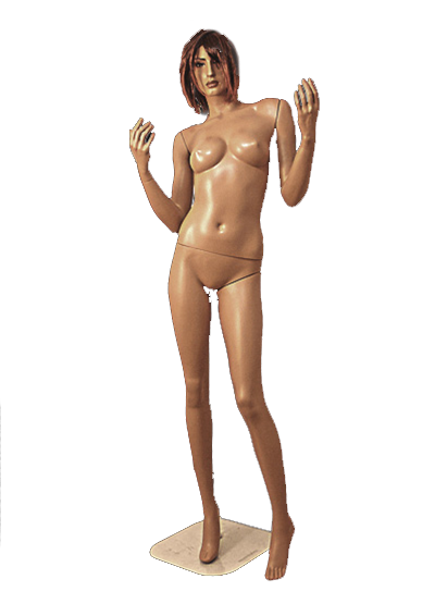 Female mannequin of the Paul series